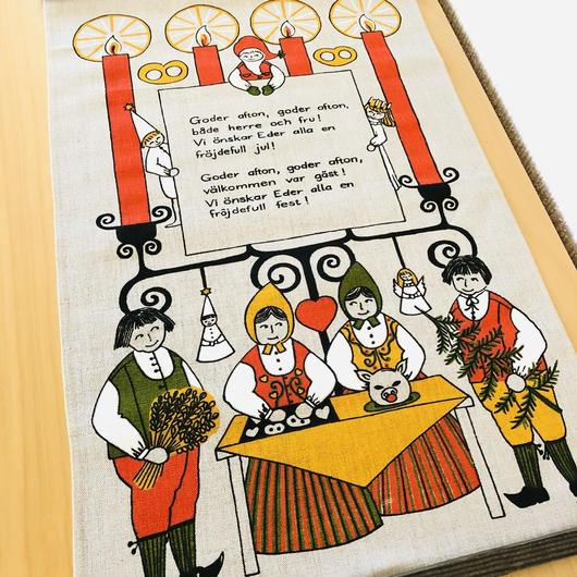 クリスマスプリント/タペストリー/Ullas/ウッラ
