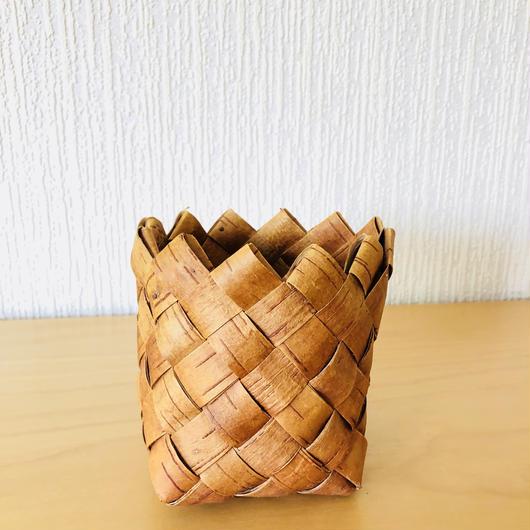 白樺細工/Näver/ネーバー/バスケット/ミニプランター