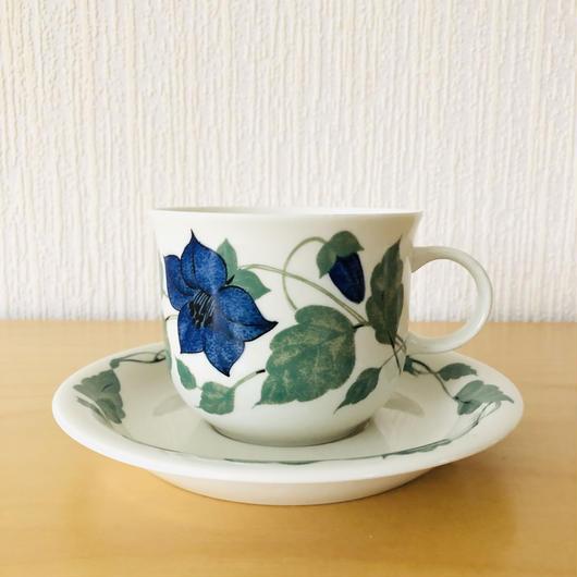 Arabia/アラビア/Tea for two/ティーフォーツゥー/ティーカップ&ソーサー