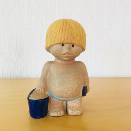 Gustavsberg/グスタフスベリ/Lisa Larson/リサラーソン/All Världens Barn/世界の子供/西の子供