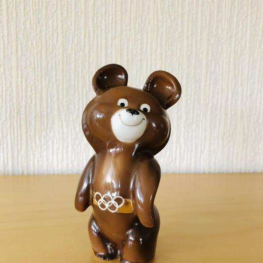 子グマのミーシャのフイギュア/陶器/15cm