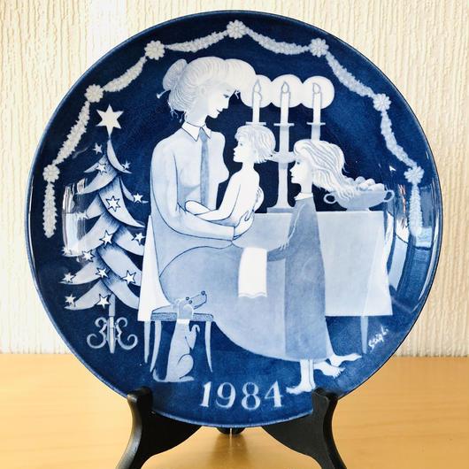 Gustavsberg/グスタフスベリ/Jultallrik/クリスマスプレート/1984年