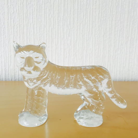 Kosta Boda/コスタボーダ/Zoo/ズーシリーズ/トラ