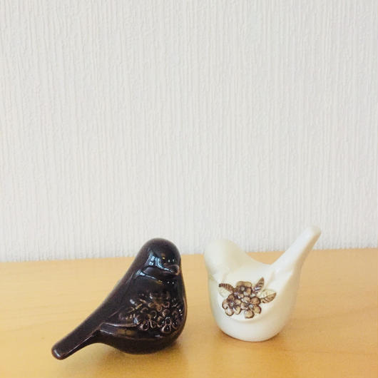 DECO/デコ/小鳥のフィギュア/2個セット