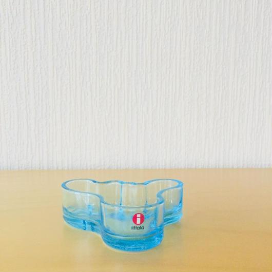 iittala/イッタラ/Alvar Aalto/アルヴァアアルト/キャンドルホルダー/ライトブルー