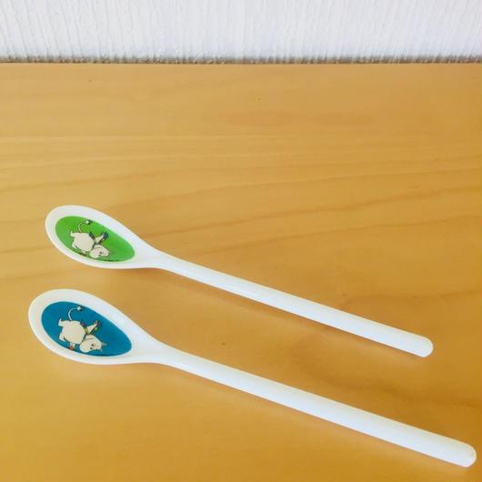 Mumin Long spoon/ムーミン/ロングスプーン/メラミン/2本セット