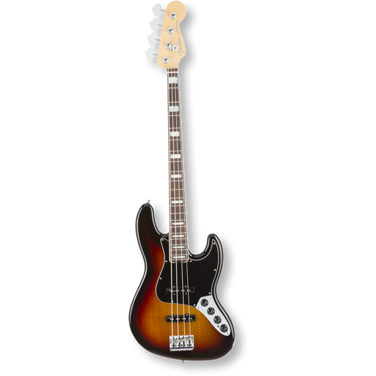 Fender American Elite Jazz Bass® R/ 3-Color Sunburst ( 0885978649884 )