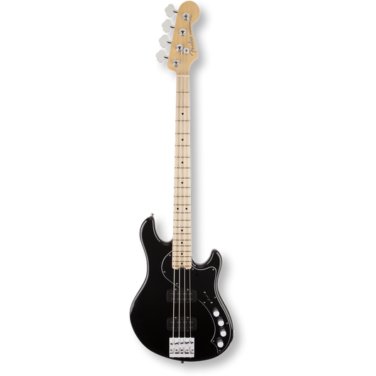 Fender American Deluxe Dimension™ Bass IV HH/ Maple/ Black ( 0885978319350 )D