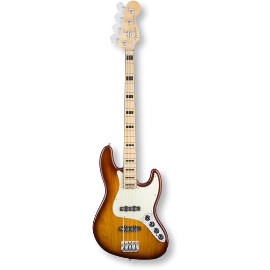 Fender American Elite Jazz Bass® Ash/Maple / Tobacco Sunburst ( 0885978655977 )