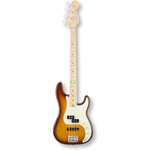 Fender American Elite Precision Bass® Ash/Maple / Tobacco Sunburst ( 0885978655946 )