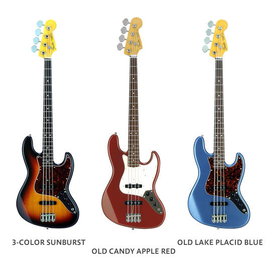 Fender Japan Exclusive CLASSIC 60S JAZZ BASS USA PICKUPS