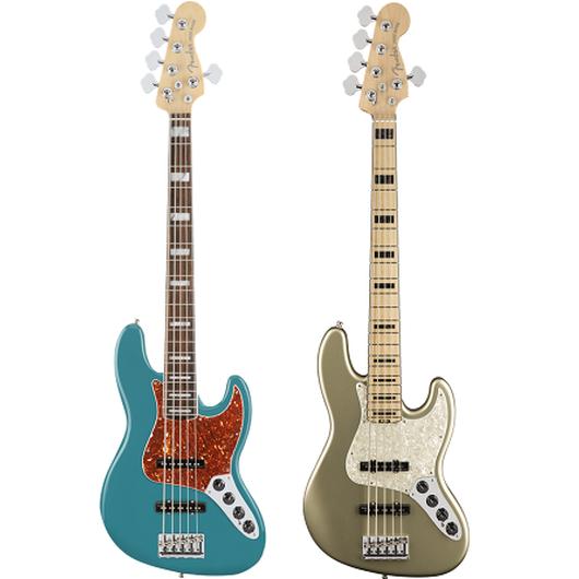 【新製品】Fender  American Elite Jazz Bass® V