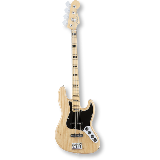 Fender American Elite Jazz Bass® Ash/Maple / Natural ( 0885978649891 )