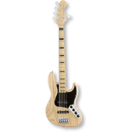 Fender American Elite Jazz Bass® V/Ash /Maple/ Natural ( 0885978649914 )