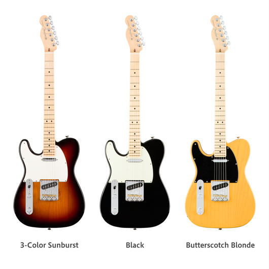 【新製品】Fender レフティ American Pro Telecaster® Left-Hand / Maple Fingerboard