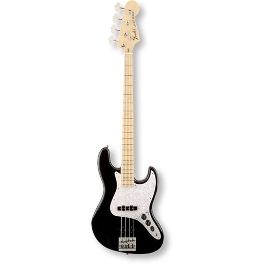 Fender U.S.A. Geddy Lee Jazz Bass® Maple Fingerboard/ Black ( 0885978319473 )