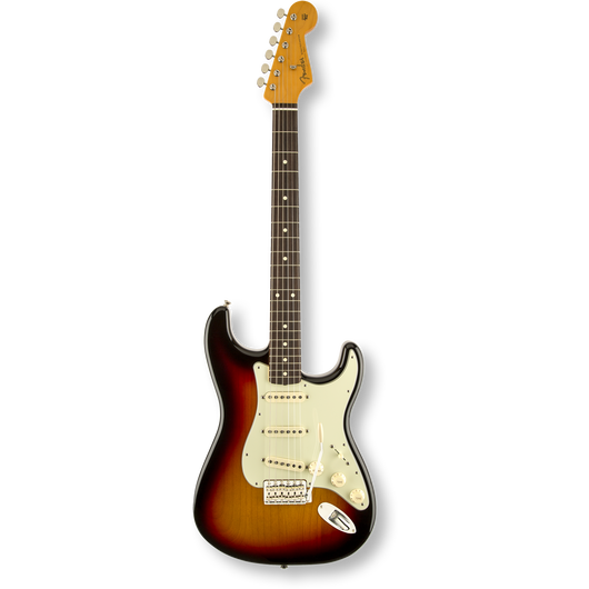 Fender  Classic Series '60s Stratocaster® Lacquer Rosewood / 3-Color Sunburst ( 0885978307746 )