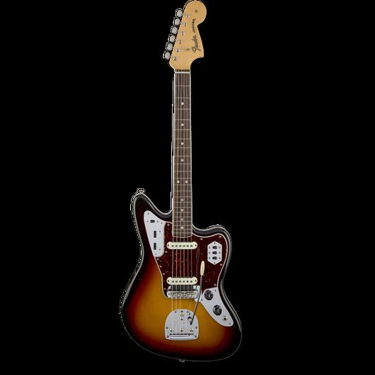 Fender American Vintage '65 Jaguar®3-Color Sunburst / Round-Lam Rosewood ( 0885978140985 )