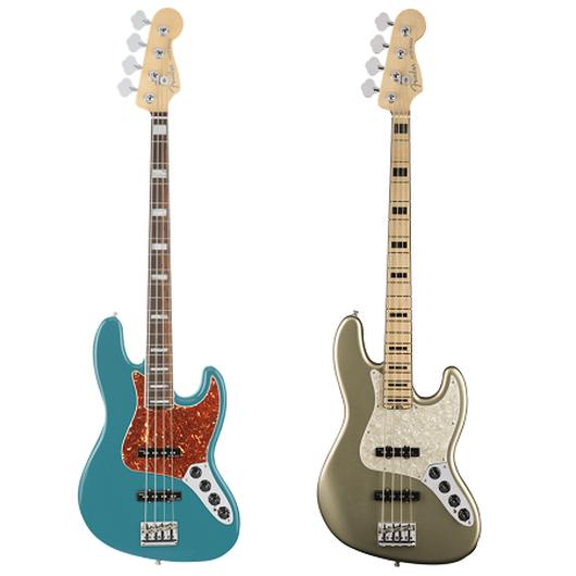【新製品】Fender American Elite Jazz Bass®