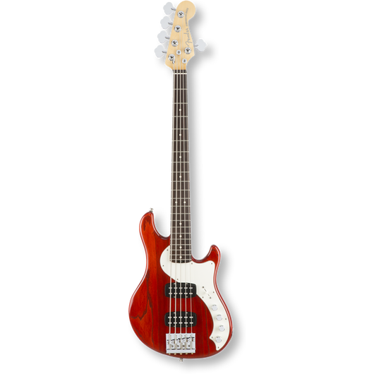 Fender American Elite Dimension™ Bass V HH Rosewood / Cayenne Burst ( 0885978649822 )