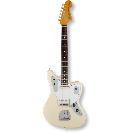 Fender Johnny Marr Jaguar® Olympic White / Rosewood Fingerboard ( 0885978155361 )