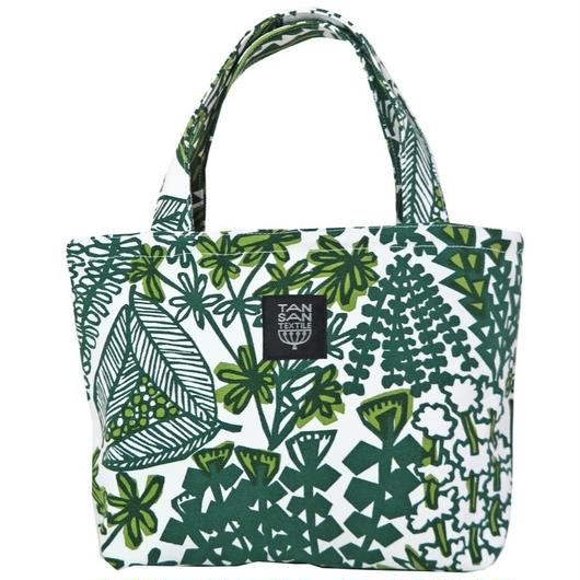 Mini tote Bag 「YASOU」green