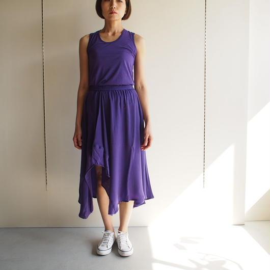 Roque/アシメトリーキュプラスカート