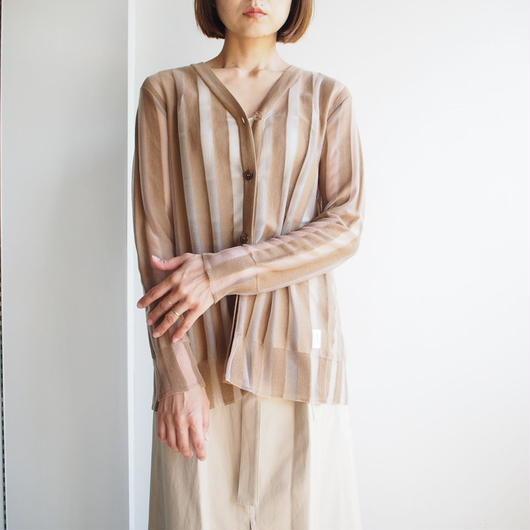 TARO HORIUCHI/ バックオープンニットカーディガン