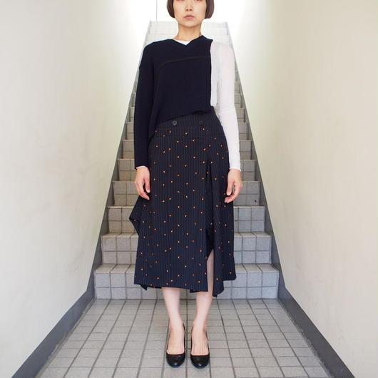 TARO HORIUCHI/ダブルボタンスカート