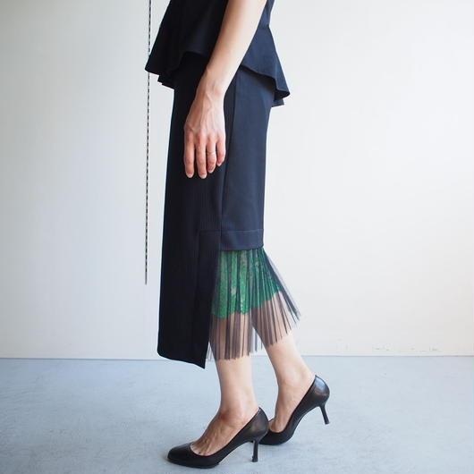 TARO HORIUCHI/ テールプリーツスカート