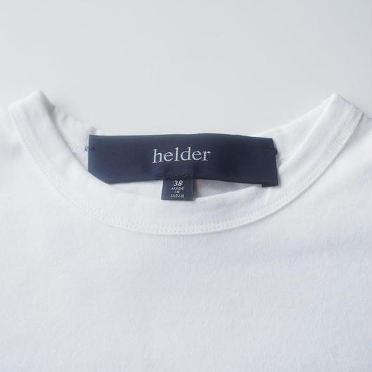 helder/定番ホワイト Tシャツ
