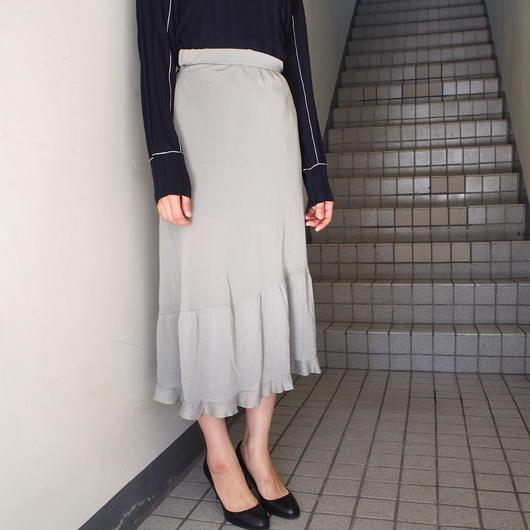 AKANE  UTSUNOMIYA/アシンメトリーフリルスカート