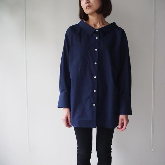 helder/ ビッグネックシャツ