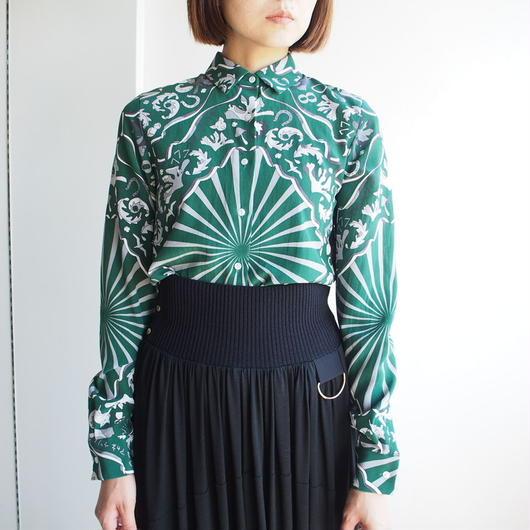 AKANE  UTSUNOMIYA/ペイズリーロングスリーブシャツ