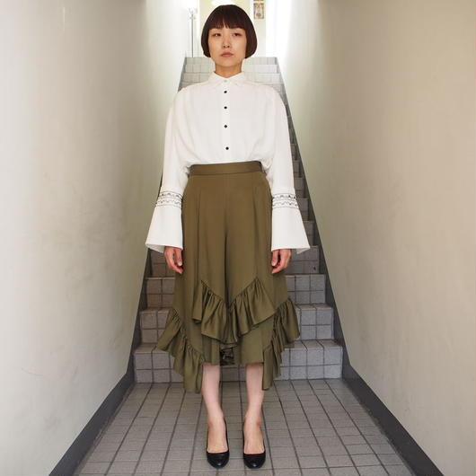 TARO HORIUCHI/スカートルックフリルパンツ