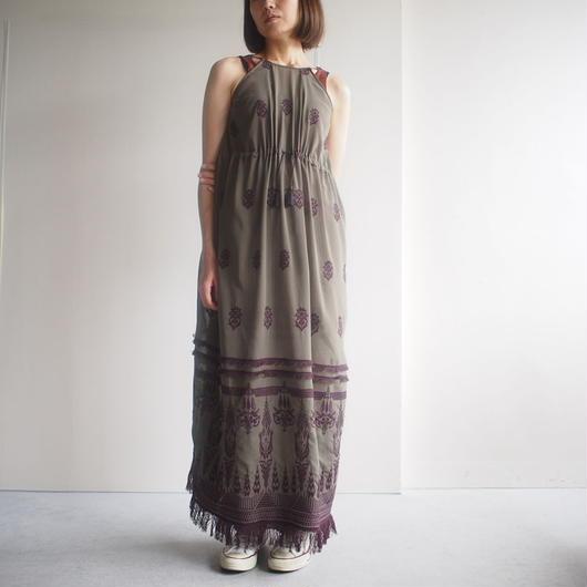 SATOKO OZAWA/タスマリンノースリーブワンピース