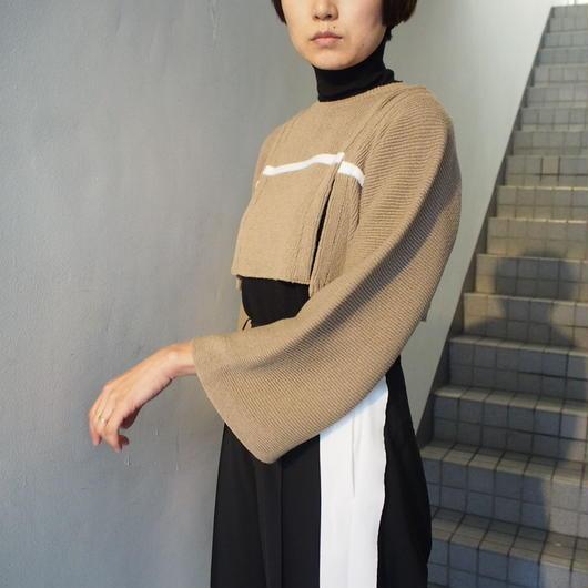 TARO HORIUCHI/クロップドセパレートニット