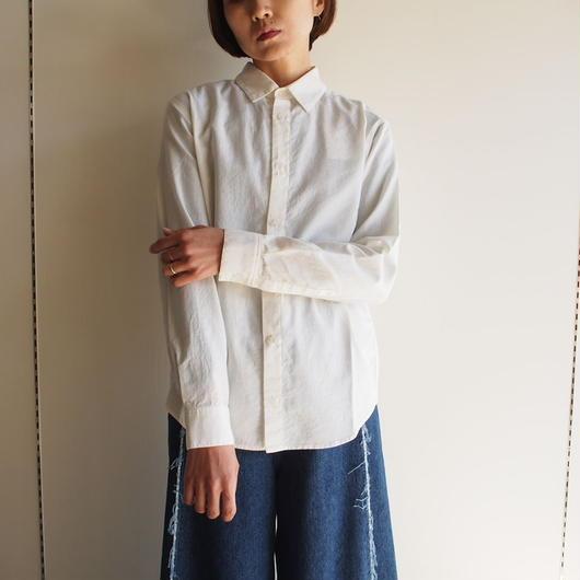 evam eva/ コットンカシミアシャツ(men's)