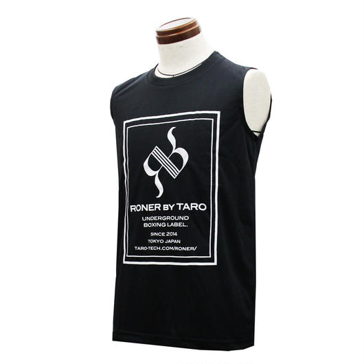 RONER SPORT       BOX  logo  Sleeveless