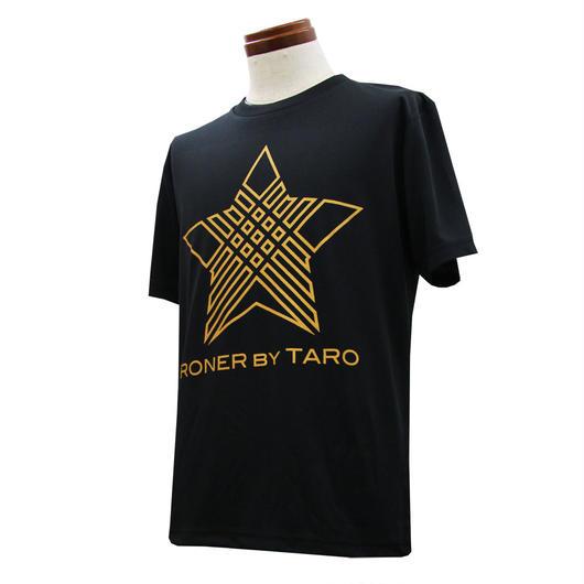 RONER SPORT   NAKED STAR  dry T-shirt GOLD