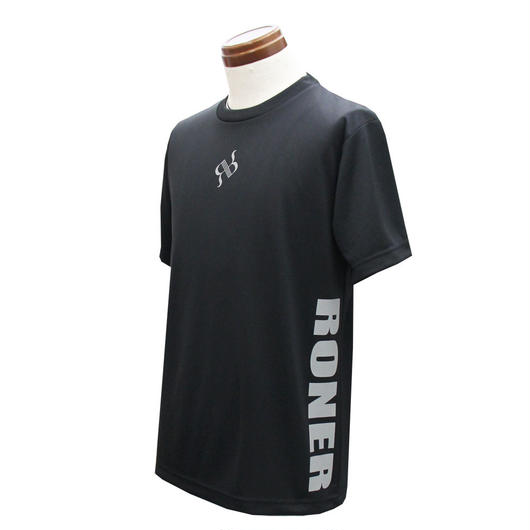 RONER SPORT       side print  T-shirt