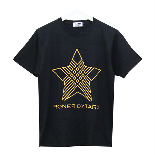 RONER  NAKED STAR  T-shirt GOLD