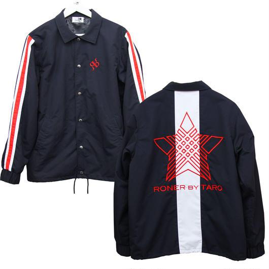 RONER   NAKED STAR  Coach jacket BLACK / RED