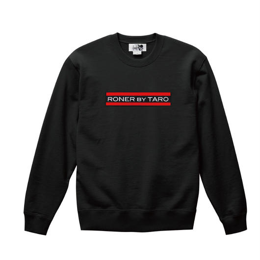 RONER Red Line Box logo sweat shirt