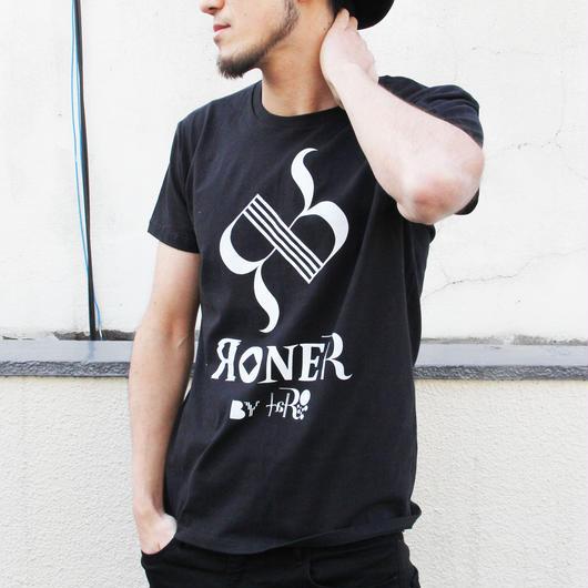 RONER by taRo ロゴTシャツ BLACK