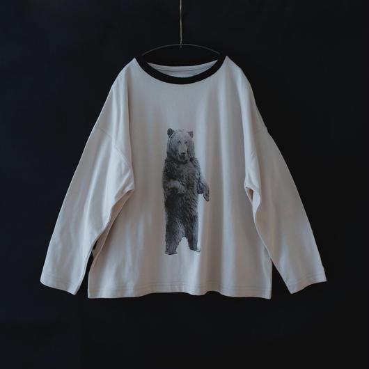 michirico[ミチリコ]/Bear longsleeve T(kids L-XXL)