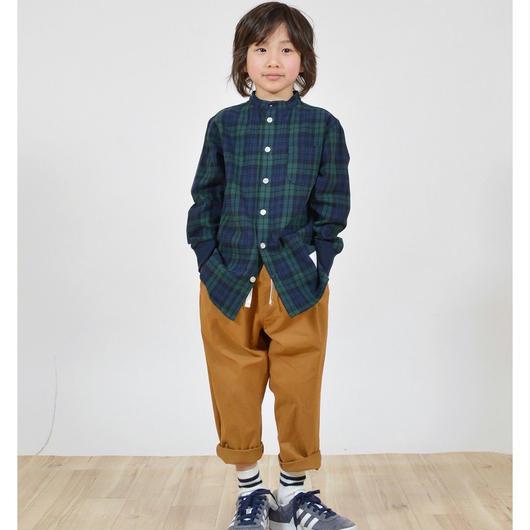 GENERATOR[ジェネレーター]/スタンドカラーチェックシャツ