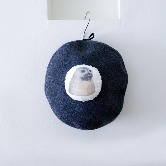 michirico[ミチリコ]/アニマルベレー帽(アザラシ)