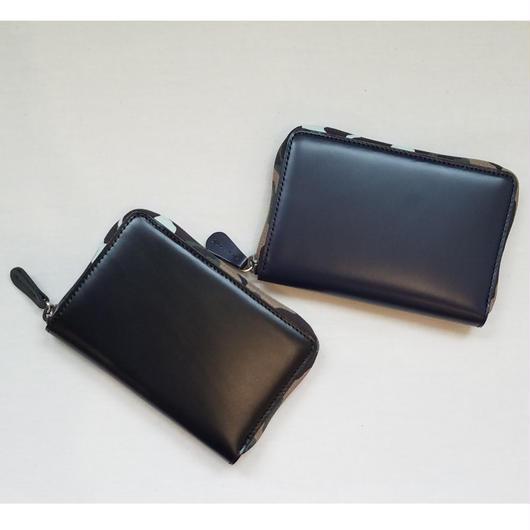 soglia[ソリア] / soft glass round wallet