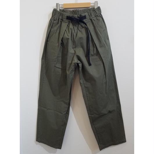 coochucamp[クーチューキャンプ]/Happy Wide Tuck Pants